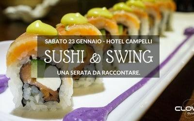 Sushi & Swing: mangiare giapponese a Sondrio in Valtellina
