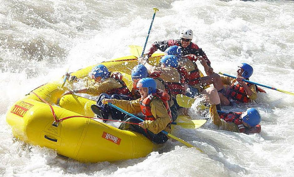 Rafting e canoa in Valtellina